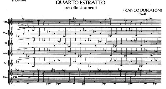 Quartetto Estratto